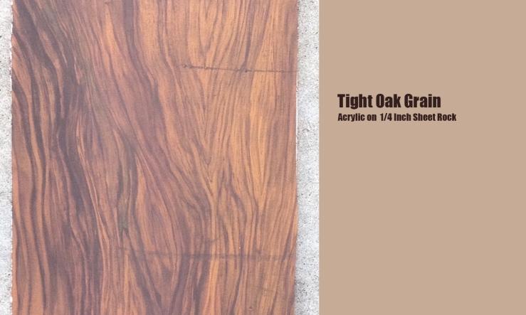 Tight Oak Grain
