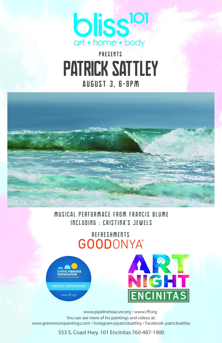 Patrick Sattley Flyer (Art Night)2